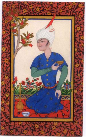 Persian styled miniature