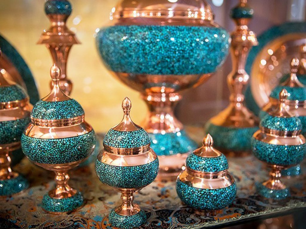 Turquoise Inlaying FIROOZEH KOOBI 2 termecrafts 1024x768 1