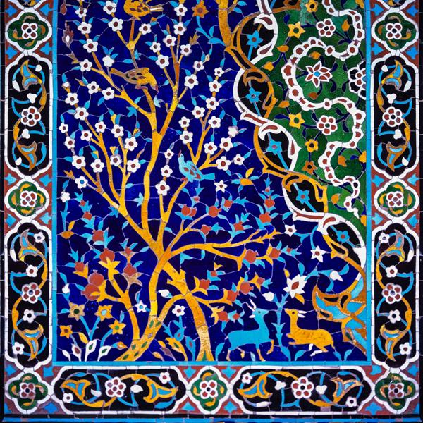 Persian Tiling art termehcrafts 3